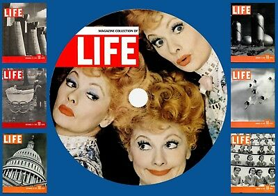 Life Magazines On DVD Rom