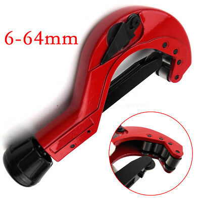 6-64mm Heavy Duty Pipe Cutter Quick Release Plumbing Ball Tube Slicer Shear Tool