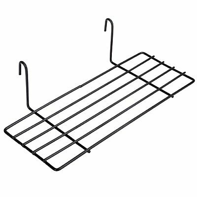 Kufox Hanging Straight Shelf for Wire Wall Grid Panel, Small Wire Wall Organizer