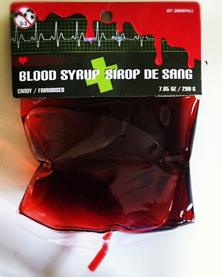 Blood Bag Syrup ( 24 x 120ml Bag in a display box)