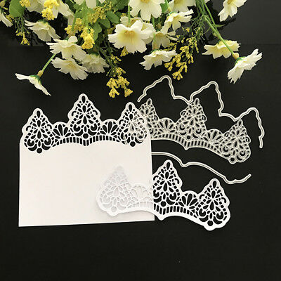 lace Design Metal Cutting Dies For DIY Scrapbooking Card Paper Album A   I