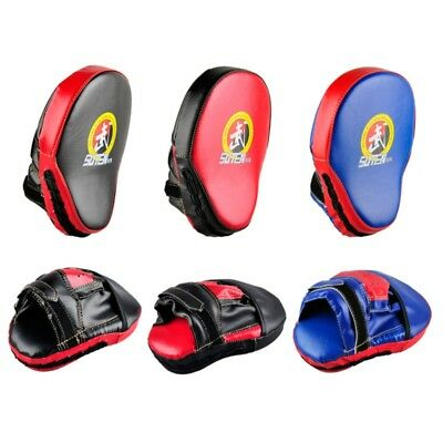 Curved Focus Pads Punching Pad Martial Arts MMA Boxing Mitts Training Gloves AU