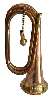 Antique-Style-Classy-Gift-Items-Brass-Made-Old-School-Orchestra-Band-Bugle