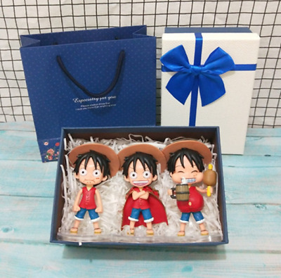 Q Version Of One Piece Model Doll Road Fly Doll Hand-Made Ornaments Creative