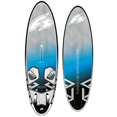 F2 Vegas Twin Freeride & Freemove Windsurf-Board 2019 ~ Vol.: 146 L ~ Messeboard