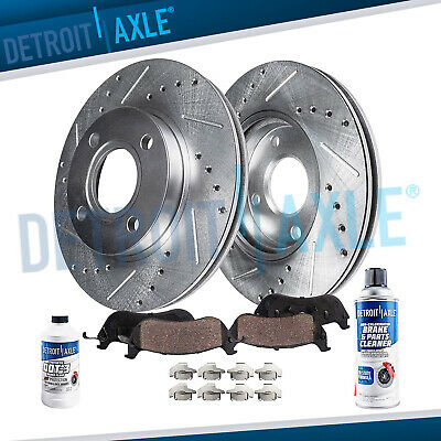 Z1070 FIT 1998 1999 2000 2001 2002 Honda Accord 4Cyl Drilled Rotors Pads FRONT