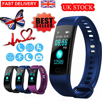 Y5 Bluetooth Smart Watch Wrist Watch Fitness Sports Tracker  for Android iOS