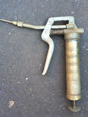 Grease Gun With Needle Attachment Used