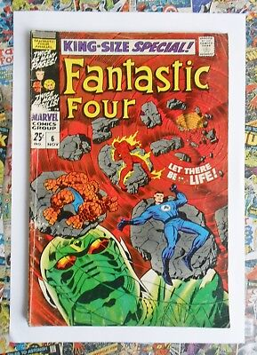 FANTASTIC FOUR ANNUAL #6 - NOV 1968 - 1st ANNIHILUS APPEARANCE! - VG+ (4.5) HOT!