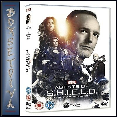 Agents Of Shield - Marvel's Agents Of Shield Season 5** Brand New Dvd***