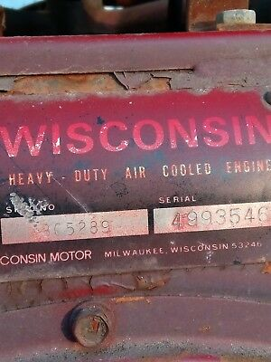 Wisconsin engine