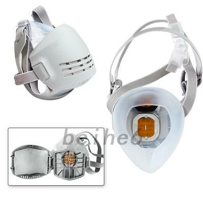 Reusable Chemical Anti-Dust Paint Respirator Welding Industrial Mask UK Local