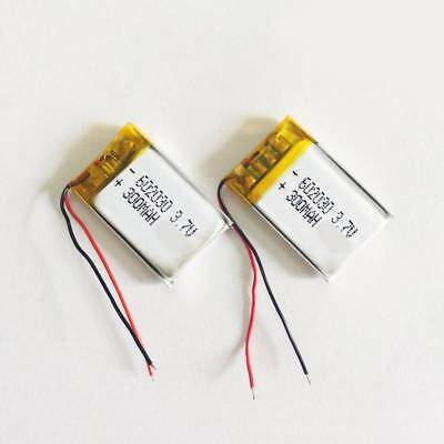 3.7V 300mAh Li-Po 602030 Battery Rechargeable For RC Helicopter/MP3MP4PSPGPS