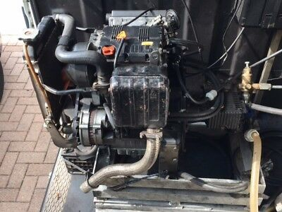 Lombardini Diesel Pressure Washer - Electric Start 15 LPM 250 Bar water cooled