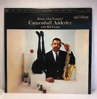 --  Cannonball Adderley With Bill Evans  -- ‎– Know What I Mean?,Reissue,OJC-105