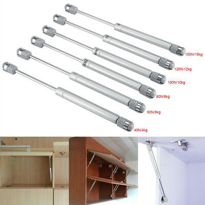 Lift Door Hinge Hydraulic Gas Strut Lid Stay Support Kitchen Cabinet Open Close