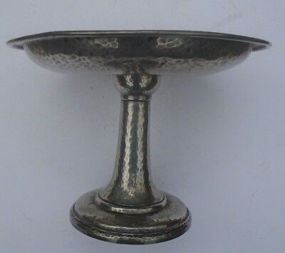A Tudric Pewter Comport Retailed For Liberty