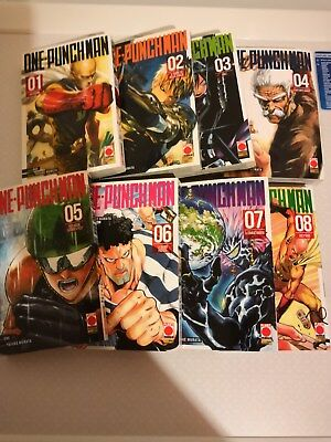 One Punch Man 1-8