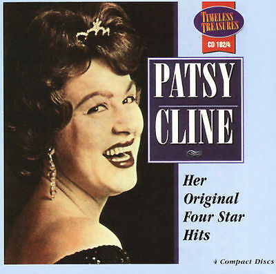 Her Original Four Star Hits [Box] by Patsy Cline (CD, Aug-2005, 4 Discs, Time...