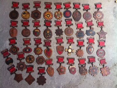 40pcs Collect China's military medal in Anti-Japanese War set different medals
