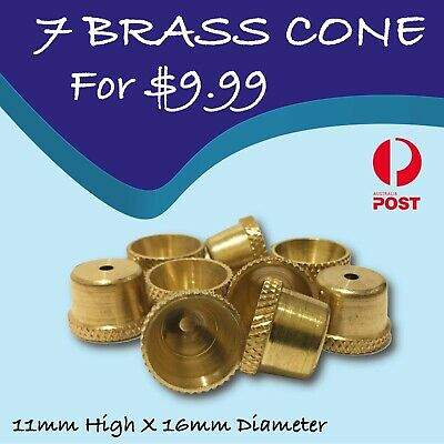 Brass cone piece - metal smoking pipe with bonza cone piece - bong water pipe