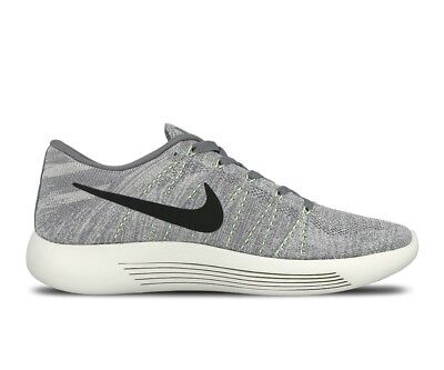 brand new 0ac19 fd7a1 New Mens NIKE Lunarepic Low Flyknit Trainers Grey 843764 005 UK 8 EUR 42.5