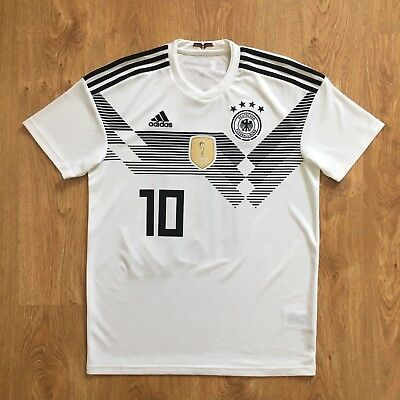 finest selection 4de9e 94135 GERMANY NATIONAL TEAM World Cup 2018 Football Shirt Jersey Home #10 Ozil  Size M