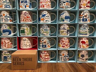 Starbucks City Coffee Mug BEEN THERE SERIES BTS Collection 14 oz NIB