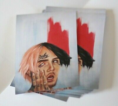 Lil Peep A6 Print Poster Oil Painting GBC Artwork