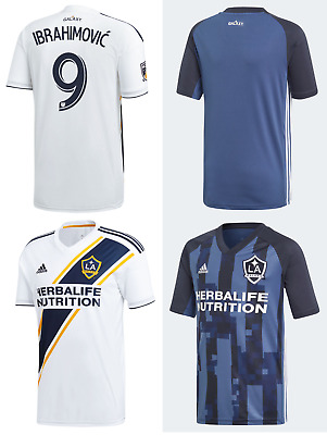 7e7cfea8a NEW 2019 Jerseys LA Galaxy Club Soccer Zlatan Ibrahimovic Uniform MLS Men  Custom