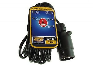 Maypole 7 Pin Towbar Socket Tester MP180B