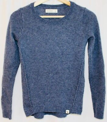 Abercrombie & Fitch KIDS Blue Long Sleeve Wool Sweater Size Medium M