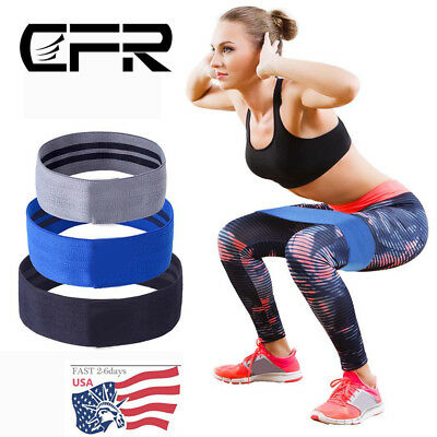 Resistance Band Muscle Workout Bands Fitness Hip Exercise For Booty Thighs Legs