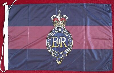 ROYAL HORSE ARTILLERY 115g Knitted Polyester FLAG High Quality BRITISH MILITARY