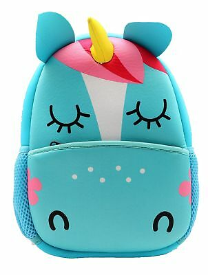 castle story Neoprene Cartoon Animal Series Schoolbag for Little Kid Toddler