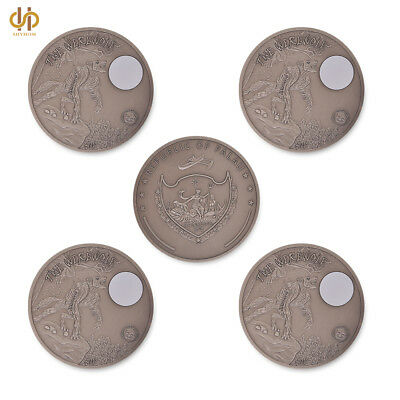 5PCS 2013 The Wildlife Werewolf Republic of Palau Commemorative Coin Collection