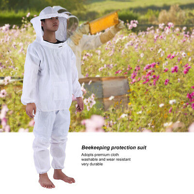 BeeKeepers Bee Suit Beekeeping White-Protective Equipment - Premium Quality UK