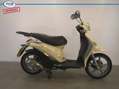 2008 Piaggio Liberty 125 ** No Reserve ** Cream