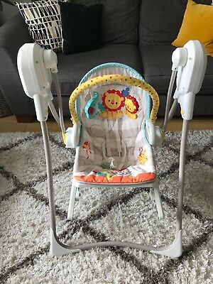 Fisher Price 3 in 1 Swing n' Rocker Infant Baby Rocker EXCELLENT CONDITION