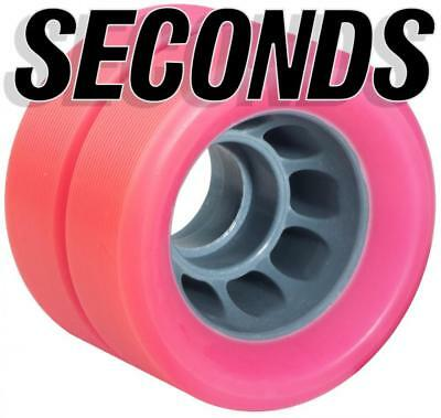 Derby Quad Skate Training Wheels Factory Seconds Indoor 62mm x 43mm 92A (4 Pack)