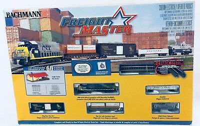 Bachmann Trains Freightmaster N Scale Ready To Run Electric Train Set New #24022