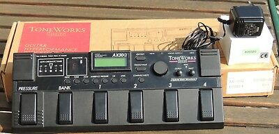 KORG ToneWorks AX30G Guitar Hyperformance Processor Multieffektgerät