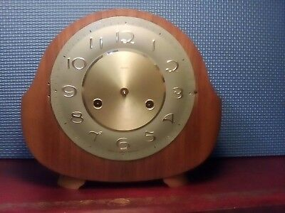 Vintage Smith/Enfield Mantle Clock. Spares or Repair.