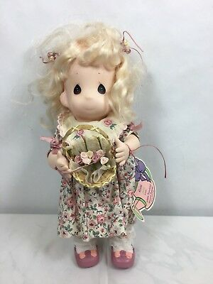 Precious Moments Garden Of Friends 1st Edition Rose #1460