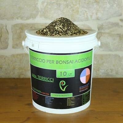 Terriccio pronto per bonsai di acidofile - busta 10 lt.