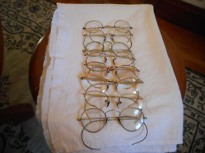 vtg lot of golded filled eyeglasses