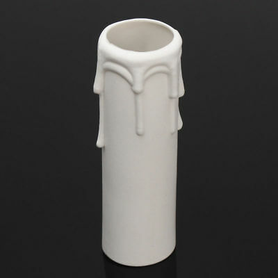 22mm White Candelabra Candle Holder Plastic Connecting Lamp Candle Cover
