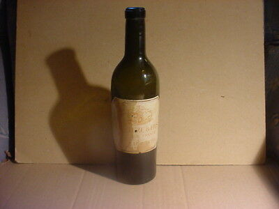 Empty 1890's Chateau Lafite Bordeaux Wine 1/2 Bottle