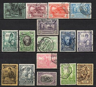 Portugal very nice mixed older era collection ,stamps as per scan(5422)