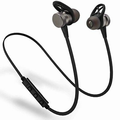 VTIN Bluetooth Earbuds Headset Best Stereo Headphones Running Sports Gym Mic